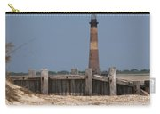 Morris Island Lighthouse Sea Wall Carry-all Pouch
