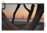 Morris Island Lighthouse Sunrise 2 Carry-all Pouch