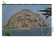 Morro Rock California Painting Carry-all Pouch