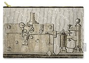 Morse Telegraph Machine, 1889 Carry-all Pouch