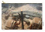 Mortar Crew In Action Carry-all Pouch