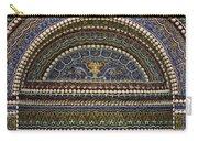 Mosaic And Shell Fountain Getty Villa Malibu California Carry-all Pouch