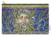 Mosaic Fountain Face View 2 Carry-all Pouch