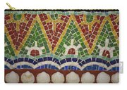 Mosaic Fountain Pattern Detail 4 Carry-all Pouch