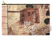 Mosaic Images At Petra Carry-all Pouch