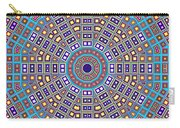 Mosaic Kaleidoscope  Carry-all Pouch