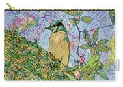Mosaic Of Blue Jay Carry-all Pouch