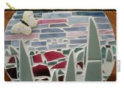 Mosaic Sailboats Carry-all Pouch by Jamie Frier