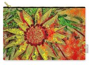 Mosaic Sunny Yellow Daisy Carry-all Pouch