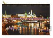 Moscow Evening, Overlooking The Kremlin. Carry-all Pouch