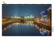 Moscow Kremlin At Night Carry-all Pouch by Alexey Kljatov