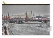 Moscow Winter Look Carry-all Pouch