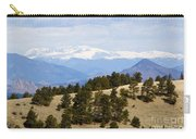 Mosquito Range Mountains From Bald Mountain Colorado Carry-all Pouch