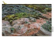 Moss And Lichen Abstract Carry-all Pouch