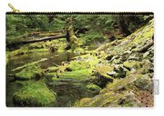 Moss By The Stream Carry-all Pouch