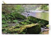 Moss Covered Boulders Carry-all Pouch