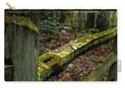 Moss Covered Fence Carry-all Pouch