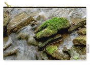 Moss Covered Rock Carry-all Pouch