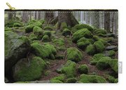 Moss Covered Rocks Carry-all Pouch