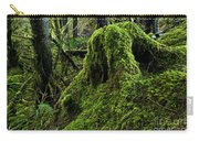 Moss Covered Tree Stump Carry-all Pouch
