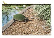 Moss Covered Turtle Carry-all Pouch