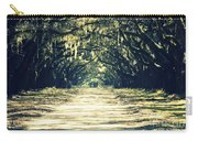 Moss Green Road Carry-all Pouch