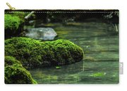 Moss In A Spring Carry-all Pouch