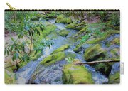 Mossy Blue Brook Carry-all Pouch