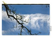 Mossy Branches Skyscape Carry-all Pouch