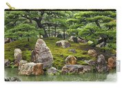 Mossy Japanese Garden Carry-all Pouch by Carol Groenen