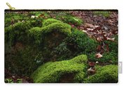 Mossy Rocks In Spring Woods Carry-all Pouch