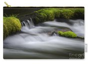 Mossy Rocks  Oregon 1 Carry-all Pouch