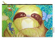Mossy Sloth Carry-all Pouch