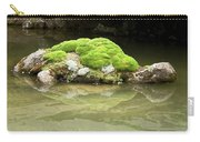 Mossy Turtle Rock Carry-all Pouch