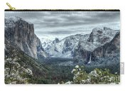 Most Beautiful Yosemite National Park Tunnel View Carry-all Pouch