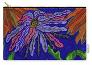 Most Unusual Poinsettia In A Midnight Blue Sky Carry-all Pouch