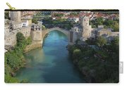 Mostar, Bosnia And Herzegovina.  Stari Most.  The Old Bridge. Carry-all Pouch