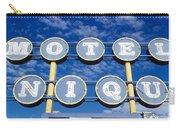 Motel Unique Sign Seligman Az Carry-all Pouch