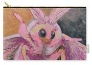 Moth Of Pink Carry-all Pouch
