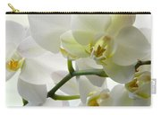 Moth Orchids - White Carry-all Pouch