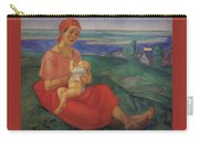Mother 1 1913 Kuzma Sergeevich Petrov-vodkin Carry-all Pouch