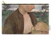Mother And Child Carry-all Pouch by Paula Modersohn Becker