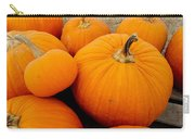 Mother And Daughter Pumpkins Carry-all Pouch