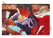 Mother And Newborn Child Carry-all Pouch
