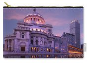 Mother Church And Reflection Carry-all Pouch
