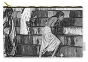 Mother Ganges - Paint Bw Carry-all Pouch