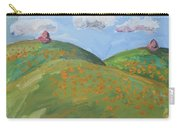 Mother Nature With Poppies Carry-all Pouch