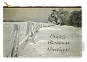 Mother Nature's Christmas Tree Card Carry-all Pouch