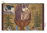 Mother Of God Life Giving Spring With Mother Macaria Of Russia And Blessed Margaret Of Castello 179 Carry-all Pouch