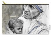 Mother Teresa. God Bless This Child Carry-all Pouch